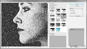239 turning a portrait into a dot drawing
