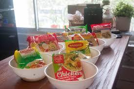 Blind Dining Singapore Blind Taste Test 8 Chicken Flavour Instant Noodles Brands In