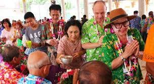 phuket historical park readies to host traditional songkran celebrations