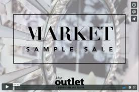 market sample sale