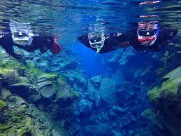 jeep snorkel underwater snorkeling from reykjavik silfra fissure in thingvellir