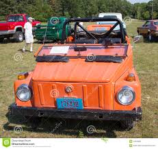 1974 Volkswagen Thing Orange Car Front View Editorial Photography