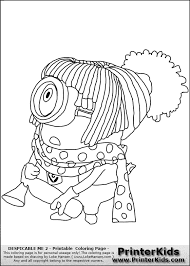 despicable minion free coloring pages art coloring pages