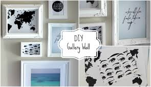 Diy Bedroom Decor by Diy Gallery Wall Diy Room Decor Youtube