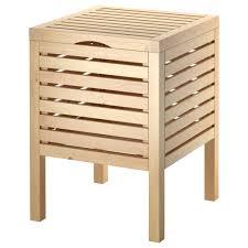 molger storage stool birch ikea