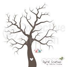 Wedding Tree Fingerprint Tree Wedding Google Search Guest Book Ideas