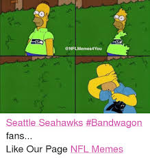 Nfl Bandwagon Memes - mnm cr seattle seahawks bandwagon fans like our page nfl