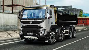 volvo 500 truck fmx meiller kipper for euro truck simulator 2