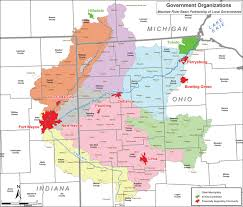 Southern Ohio Map by Impact Of Land Use Activities In The Maumee River Watershed On
