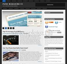 templates v1 blogger free templates blogger templates magazine pure magazine v1