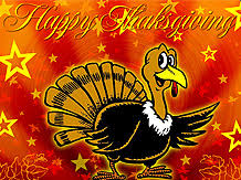 theholidayspot thanksgiving musical screensavers