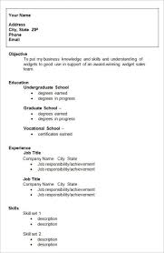 resume for high students template resume for high student template template business
