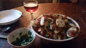 maitre de la cuisine toadstools and rings pommes de terre a la maitre d hotel