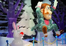 ice featuring frosty snowman gaylord opryland
