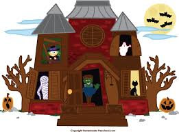 pictures of cartoon haunted houses ghost house clipart clipartxtras