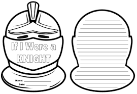 knight writing templates if i were a knight creative writing topic