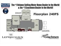 Coachmen Class C Motorhome Floor Plans 2018 Coachmen Leprechaun 240fs Rv For Sale At Mhsrv W Fireplace