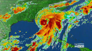 St George Island Florida Map by Brutal Night U0027 Hurricane Hermine Nears Florida U0027s Gulf Coast Nbc News