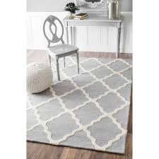 All Modern Area Rugs by Tadlock Hand Woven Light Gray Area Rug U0026 Reviews Allmodern