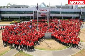 toyota manufacturing turnbull blames australians for holden toyota closures motor