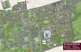 Ut Campus Map Campus Map Texas A U0026m University Visitor Guide