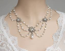 vintage wedding jewelry necklace images New fashion vintage bridal necklace trendy jpg