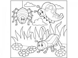 preschool coloring pages bugs bugs activities for preschool funnycrafts bug coloring pages for