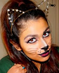 Eyeliner Halloween Makeup by Hello Hera Kitty A Halloween Makeup Look