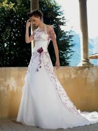 purple white wedding dress purple accent wedding dress naf dresses
