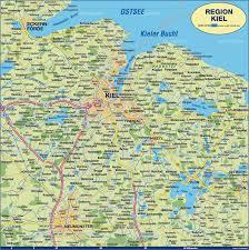 Germany Map Freiburg by Kiel Map