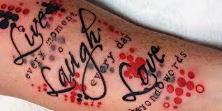 live love laugh slide dc tattoos