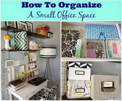 restoration beauty how to organize a small office work space
