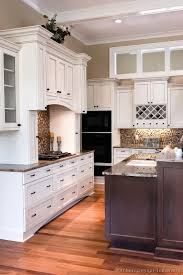 Renew Your Kitchen Cabinets by Pictures Of Kitchens Traditional Two Tone Kitchen Cabinets