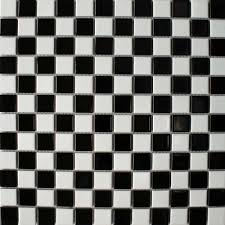 Black And White Bathroom Tile Design Ideas Black And White Floor Tile Gen4congress Com