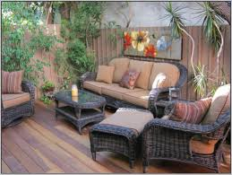 patio furniture decorating ideas decor tips wicker patio furniture with seat cushions and deck