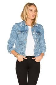 Light Jean Jacket Derek Lam 10 Crosby Toby Classic Jean Jacket In Light Denim Revolve