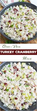 leftover turkey cranberry rice wonkywonderful