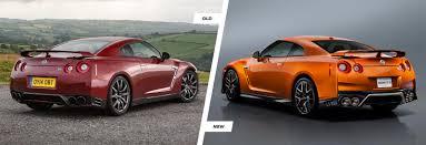 nissan gtr katsura orange nissan gt r facelift old vs new compared carwow
