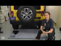 jeep wrangler u002707 u002715 tow hitch and trailer wiring install