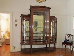 antique display cabinets with glass doors large antique display cabinet ads may clasf