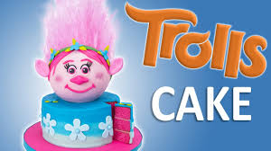 how to make a trolls cake with edible hair from cookies cupcakes