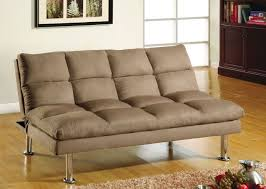 Sofa Bed Support by Furniture Of America Cm2902 Saratoga Contemporary Brown Microfiber