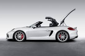 boxster porsche black 2016 porsche boxster spyder debuts in new york with 375 hp