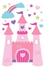 34 best princesas images on pinterest clip art princess party princess castle wall decal from speckled house sheet measures x forwalls removable vinyl wall decals can be applied to almost any surface painted walls