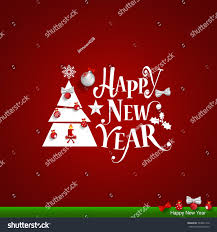 merry christmas happy new year greeting stock vector 534821410