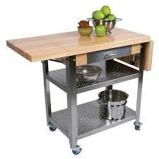kitchen carts cucina elegante maple top optional drop leaves boos blocks cuce cucina elegante kitchen cart maple edge grain top with drop leaf