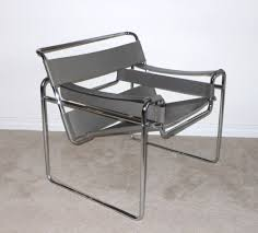 furniture wonderful wassily chair in gray for home furniture ideas