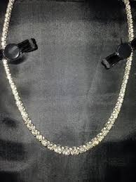 chain necklace diamond images Diamond tennis necklace ebay JPG