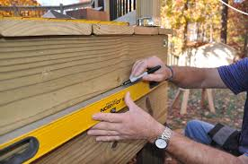 How To Install Stair Lights by Decks Com Stair Stringer Attachment
