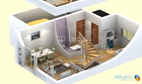 Home Design 3d Examples 3d Floor Plan House Plans Pinterest House